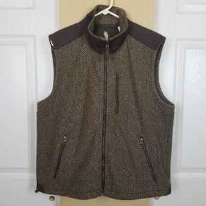 Orvis Herringbone Outdoor Vest L